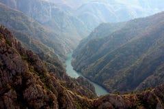 Barranco de Matka, Macedonia Imagenes de archivo