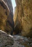 Barranco de Valli Cupe Foto de archivo libre de regalías