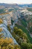 Barranco de Verdon, Francia foto de archivo libre de regalías