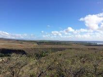 Barranco de Waimea en la isla de Kauai, Hawaii Fotos de archivo libres de regalías