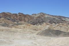 Barranco del equipo de veinte mulas, Death Valley Imagen de archivo