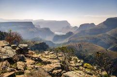 Barranco del río de Blyde, región de Mpumalanga, Suráfrica Fotografía de archivo libre de regalías