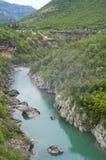 Barranco del río de Moracha Foto de archivo