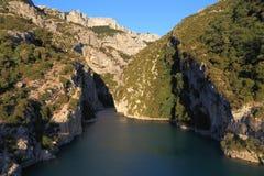 Barranco del río de Verdon Foto de archivo libre de regalías