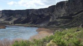 Barranco del río Lower Snake Fotografía de archivo