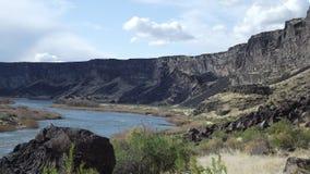Barranco del río Lower Snake Foto de archivo