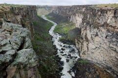 Barranco del río Snake Foto de archivo