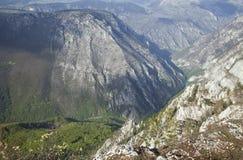 Barranco del río Tara, Montenegro Foto de archivo libre de regalías