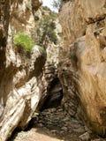 Barranco en Chipre Fotos de archivo