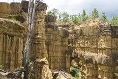 Barranco en parque nacional Imágenes de archivo libres de regalías