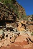 Barranco en valle del paraíso en Marruecos Imagen de archivo libre de regalías