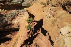 Barranco en valle del paraíso en Marruecos Foto de archivo