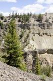 Barranco en Yellowstone Fotografía de archivo libre de regalías
