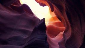 Barranco famoso del antílope - paisaje que sorprende almacen de metraje de vídeo