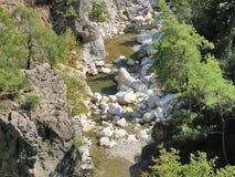 Barranco Goynuk en Turquía Fotos de archivo