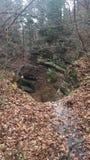 Barranco hambriento de la roca Fotos de archivo