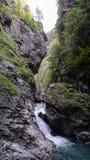 Barranco interior de la montaña de la montaña foto de archivo libre de regalías