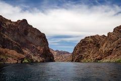 Barranco negro, Arizona Imagen de archivo libre de regalías