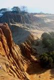 Barranco, parque nacional, California, los E.E.U.U. Imagen de archivo libre de regalías