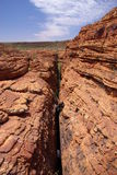 Barranco profundo en Canyon de rey Foto de archivo libre de regalías