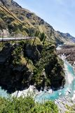 Barranco Queenstown Nueva Zelanda de los capitanes Foto de archivo libre de regalías