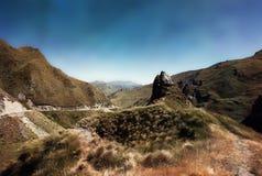 Barranco Queenstown Nueva Zelanda de los capitanes Fotos de archivo