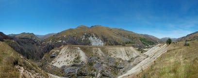 Barranco Queenstown Nueva Zelanda de los capitanes Fotografía de archivo libre de regalías