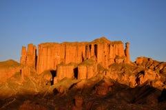 Barranco rojo de la roca fotografía de archivo libre de regalías