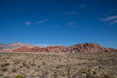 Barranco rojo de la roca Fotos de archivo libres de regalías