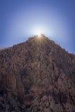 Barranco rojo 9 de la roca Imagen de archivo libre de regalías