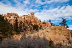 Barranco rojo Utah Imágenes de archivo libres de regalías