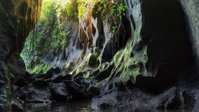 Barranco sagrado Bali del secreto Imágenes de archivo libres de regalías