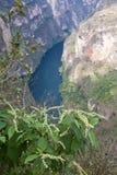 Barranco Sumidero, Chiapas, México Foto de archivo libre de regalías