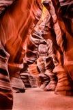 Barranco superior del barranco del antílope Imagen de archivo libre de regalías