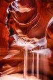 Barranco superior del barranco del antílope Fotos de archivo libres de regalías