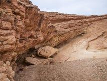Barranco usado como ubicación de la película para Indiana Jones y Star Wars adentro Fotos de archivo libres de regalías