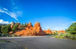 barranco Utah del bryce fotos de archivo