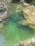 Barranco vintgar milagroso Eslovenia Fotos de archivo