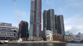 Barrangaroo em Sydney em Sydney Harbour, igualmente conhecido como Darling Harbour, Sydney, NSW imagens de stock