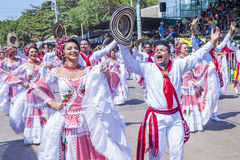 Barranquilla καρναβάλι στοκ φωτογραφίες