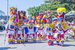 Barranquilla καρναβάλι στοκ εικόνα