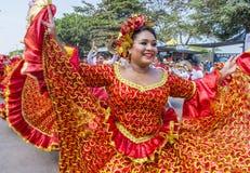 Barranquilla Carnaval Stock Foto