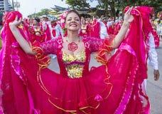 Barranquilla Carnaval Royalty-vrije Stock Afbeeldingen