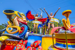 Barranquilla Carnival royalty free stock photo
