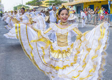 Barranquilla Carnival Stock Images
