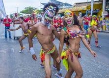 Barranquilla karnawał zdjęcia stock