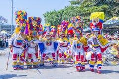 Barranquilla karnawał obraz stock