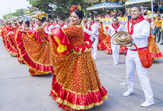 Barranquilla karnawał obrazy stock