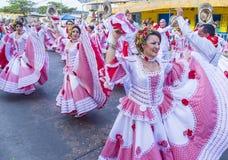 Barranquilla karnawał fotografia royalty free