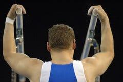 Barras 01 del gimnasta Fotos de archivo